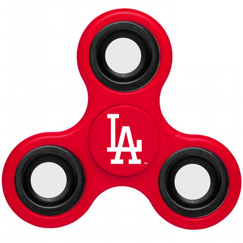MLB Los Angeles Dodgers 3 Way Fidget Spinner A35 - Red