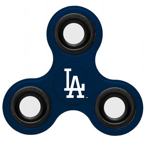 MLB Los Angeles Dodgers 3 Way Fidget Spinner B35 - Navy
