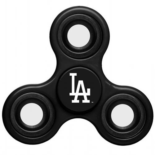 MLB Los Angeles Dodgers 3 Way Fidget Spinner C35 - Black