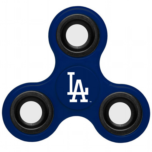 MLB Los Angeles Dodgers 3 Way Fidget Spinner F35 - Royal