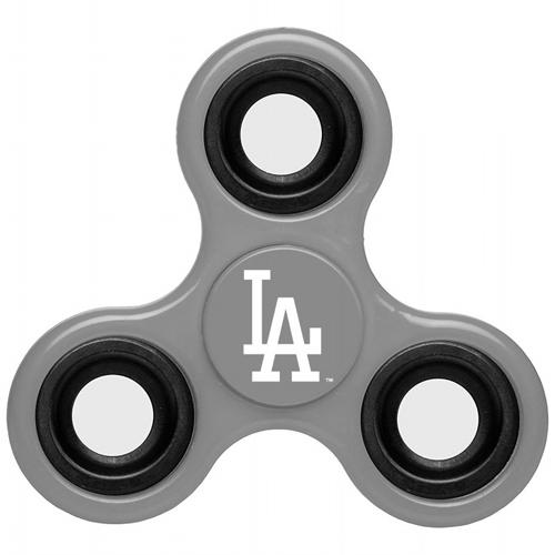 MLB Los Angeles Dodgers 3 Way Fidget Spinner G35 - Gray