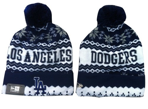 MLB Los Angeles Dodgers Stitched Knit Beanies 013