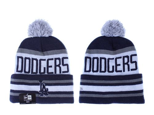 MLB Los Angeles Dodgers Stitched Knit Beanies 014