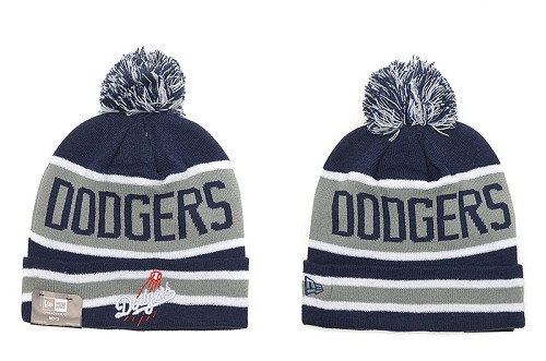 MLB Los Angeles Dodgers Stitched Knit Beanies 015