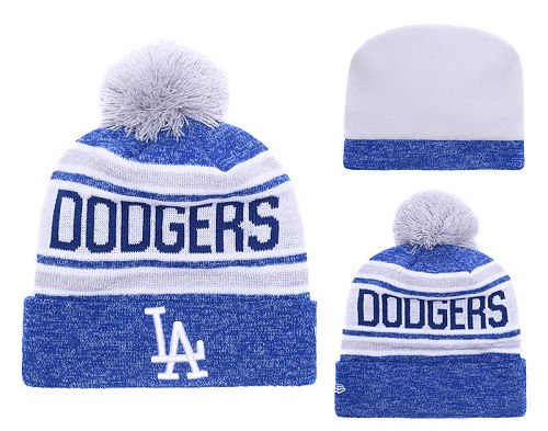 MLB Los Angeles Dodgers Stitched Knit Beanies 018