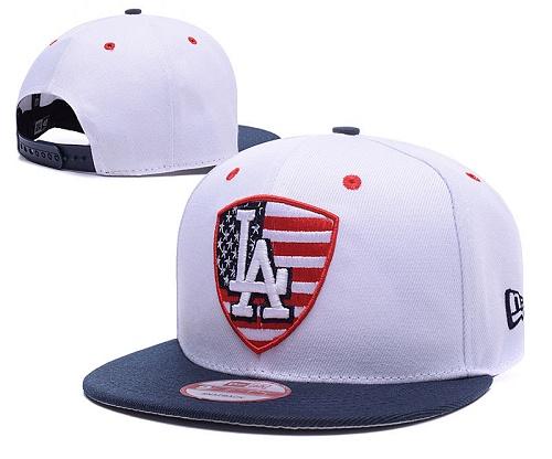 MLB Los Angeles Dodgers Stitched Snapback Hats 008