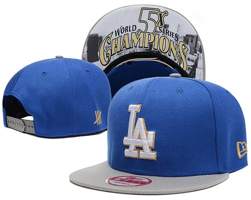 MLB Los Angeles Dodgers Stitched Snapback Hats 009