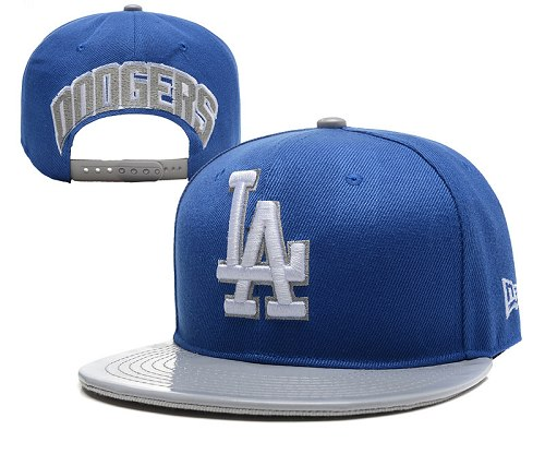 MLB Los Angeles Dodgers Stitched Snapback Hats 012