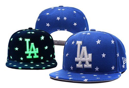 MLB Los Angeles Dodgers Stitched Snapback Hats 023