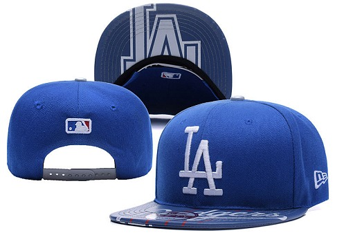 MLB Los Angeles Dodgers Stitched Snapback Hats 024