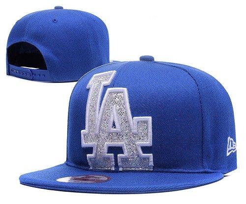 MLB Los Angeles Dodgers Stitched Snapback Hats 025