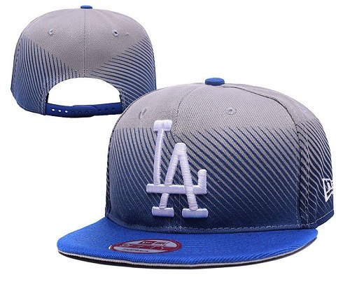 MLB Los Angeles Dodgers Stitched Snapback Hats 028