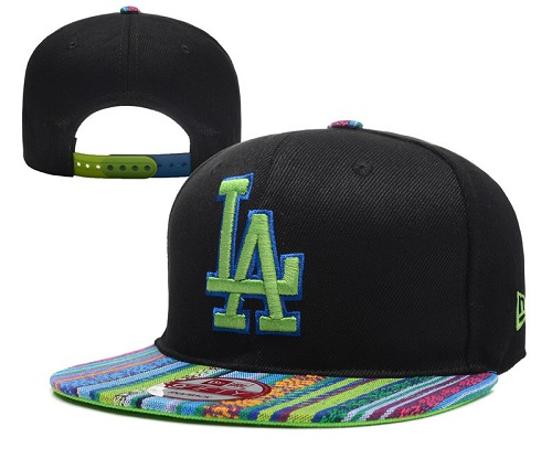 MLB Los Angeles Dodgers Stitched Snapback Hats 031