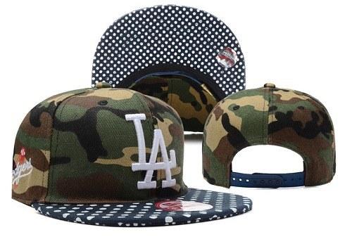 MLB Los Angeles Dodgers Stitched Snapback Hats 034