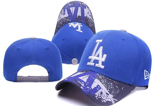 MLB Los Angeles Dodgers Stitched Snapback Hats 035