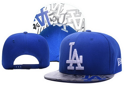 MLB Los Angeles Dodgers Stitched Snapback Hats 036