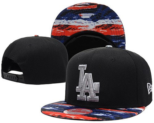 MLB Los Angeles Dodgers Stitched Snapback Hats 037