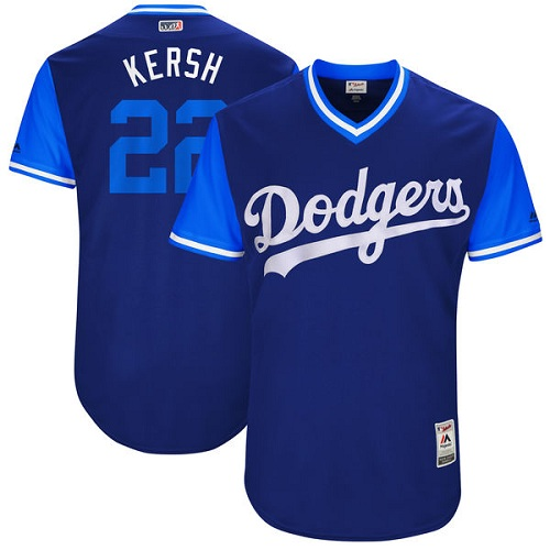 Men's Majestic Los Angeles Dodgers #22 Clayton Kershaw