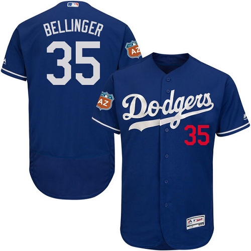 Men's Majestic Los Angeles Dodgers #35 Cody Bellinger Royal Blue Flexbase Authentic Collection MLB Jersey