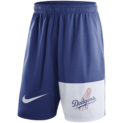 MLB Men's Los Angeles Dodgers Nike Royal Cooperstown Collection Dry Fly Shorts